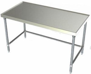 Aerospec S/S Flat Top Table