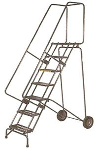 Fold-N-Store Ladder, Serrated Treads
