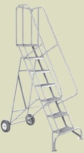 Welded Steel Roll-N-Fold Ladder