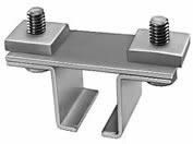 Track Hanger Clamp Assembly for Festoon Systems