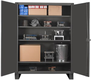 Extra Heavy Duty Lockable Storage Cabinets