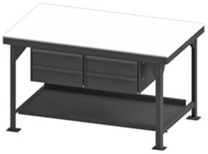 Heavy Duty Workbench with Drawers-12000 Capacity