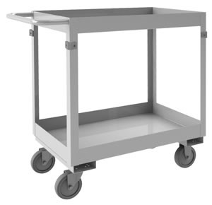 Stainless Steel Shelf Stock Carts, 600lbs Cap.