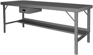 Ergonomic Workbench w/Folding legs-2000 lbs Cap