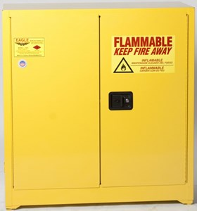 Workbench Manual Flammable Safety Cabinets-60 Gal