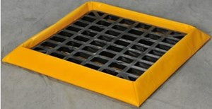SpillNest Flexible Spill Containment With Grating
