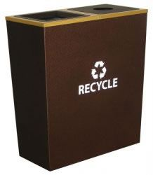 Metro Collection Double Receptacle