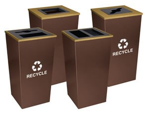 Metro Collection XL Recycling Receptacle