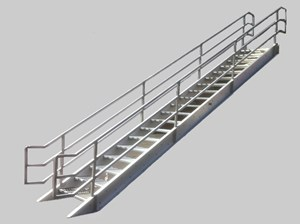Pre-2017 Welded Alum Prfb Stairways BOCA Design