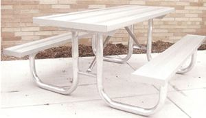 5' Aluminum Monster Table w. Painted Frame