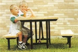 Tot Tables (4' Table w/ Lumber)