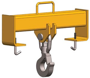Fork Truck Hook Beam (Fixed)