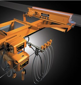 3 Ton Bottom Running-Motor Crane Kit (20' Span)