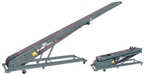 Model B Portable Folding Cleated Conveyor, 10 Ft