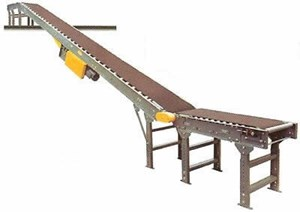 Incline Conveyor,38ftLBed,16inOAW,10inWBelt