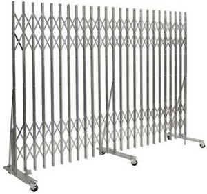Xtra-Duty Portable Folding Gate, Wall Mount