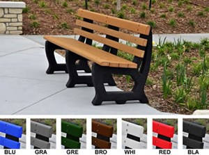 4' Brooklyn Benches