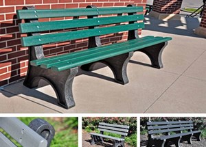 6' Central Park Benches