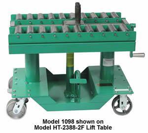Manual Push-Pull Die Handling Conveyor