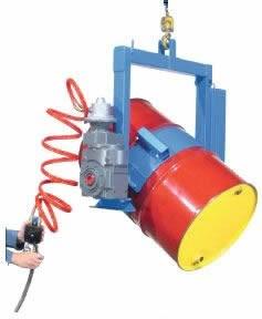 Lk goodwin company kontrol karrier power tilt 1500lb cap for Air powered gear motor