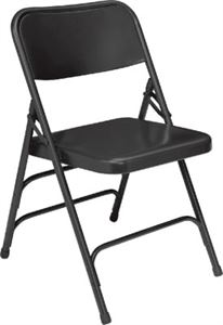 Premium All Triple Brace Folding Chair (Qty of 4)