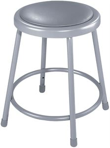 "19-27"" Adj. Stool with Padded Seat"