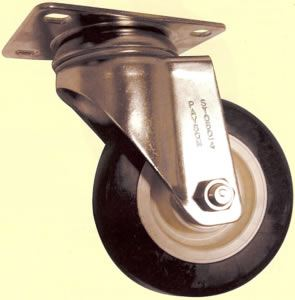 Peejay Caster with Stainless Steel Swivel Rig