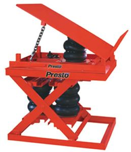 Heavy Duty Pneumatic Scissor Lift & Tilt
