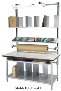 "72""L Packaging Workbench"