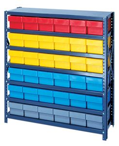 Open Shelving System with Euro Drawers