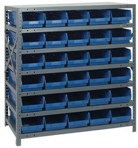 Shelf Bin Shelving System