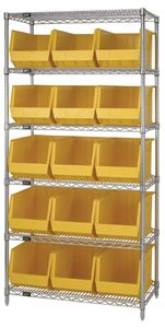 GIANT Open Hopper Wire Shelving