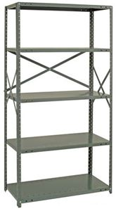 IRONMAN 20 Ga Steel Open Shelving - Starter Unit