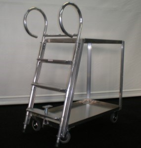 Stock Picker Ladder Cart