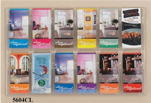 12 Pamphlet Display, Clear