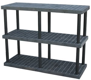 AddOn Shelf for Dura-Shelf Shelving Sys,Grid Top