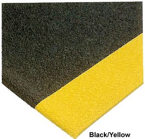 Deluxe Soft Step-Black/Yellow-3'x5'