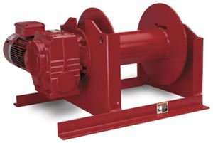 Helical/Worm Gear Power Winch