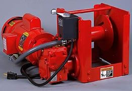 Worm/Spur Gear Power Winch