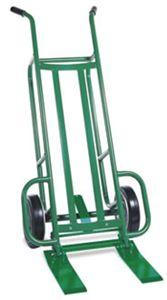 Lk goodwin company ezy tilt 2 wheel steel frame pallet truck for Valley craft hand truck