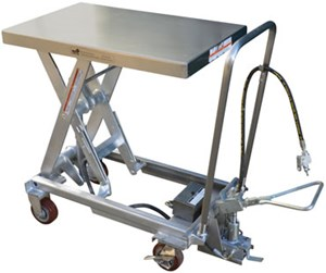Stainless Steel Air Hydraulic Carts