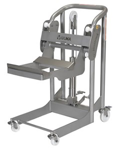 Stainless Steel Hydraulic Foot Pump Stacker