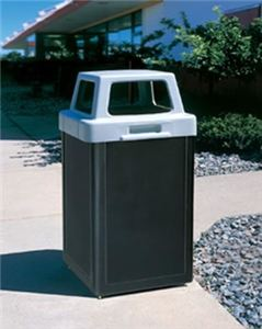 Plastic Site Furnishings Waste Container