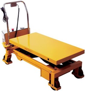 Powered Lift Scissors Table