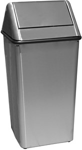 36 gal. Waste Watchers Stainless Steel Receptacle